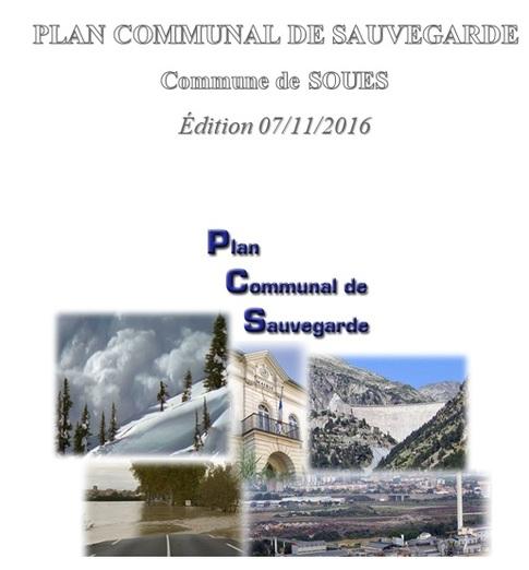 Plan Communal de Sauvegarde SOUES