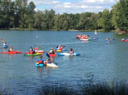 Découverte du Kayak à la Fête du Sport au Lac de Soues