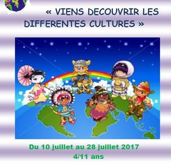 Juillet 2017 pour les 4 - 11 ans à SOUES