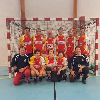 Hand-Ball : l'équipe Loisirs de Soues Barbazan championne à son tour