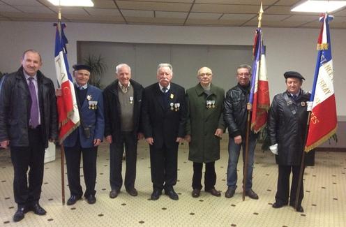 Anciens combattants honorés