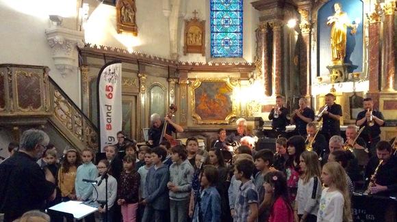 Concert Big band 65 et écoliers