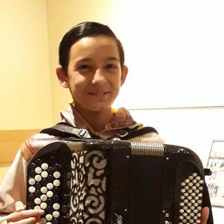 Renaud Reis Pais, jeune accordéoniste de talent