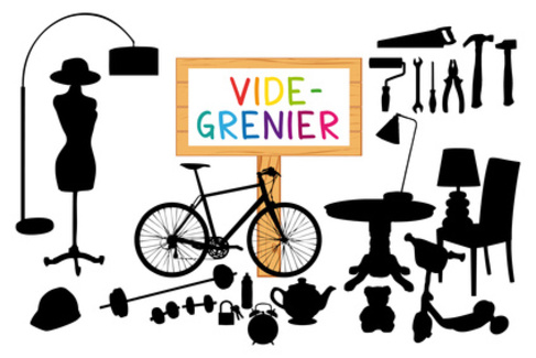 VIDE-GRENIERS organisé par les CHANTEURS DE SOUES