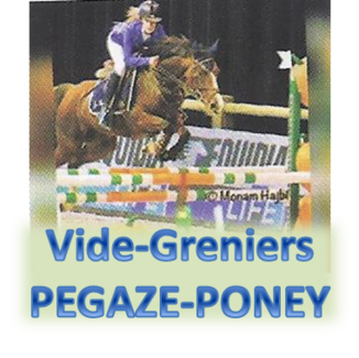 VIDE-GRENIERS organisé par PEGAZE PONEY