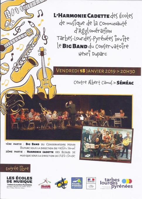 Les écoles de musique de Tarbes Lourdes Pyrénées
