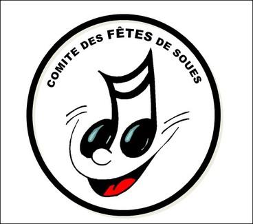 Logo du comité des fêtes de SOUES