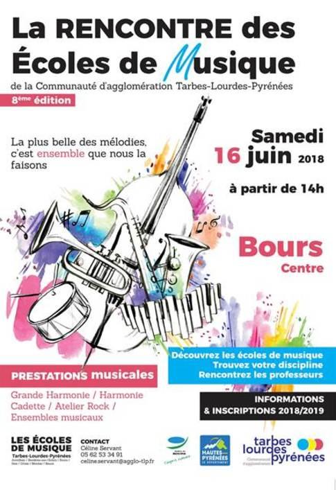 affiche 8è édition rencontre écoles de musique