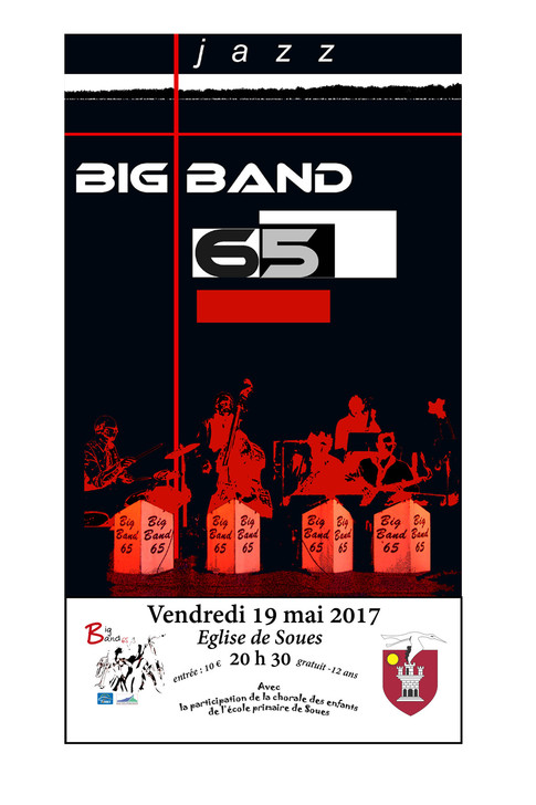 Soirée Big Band 65 et la chorale des enfants de l'école élémentaire