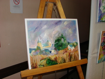 Peinture dessine moi un mouton - soues