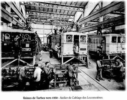 atelier en 1920-30