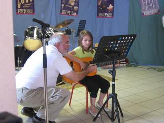 cours de guitare BOITE A MUSIQUE SOUES