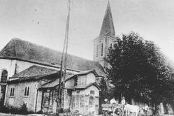 Eglise de Soues - Images anciennes