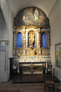 chapelle de l'église de Soues