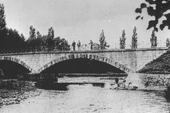 Pont de l'Adour à Soues