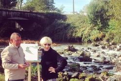 Les peintres et le pont