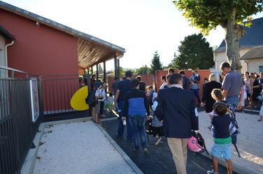 Rentrée 2013 école élémentaire Michel Barrouquère-Theil  à Soues