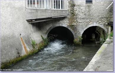 LE CANAL DE L'AGAOU -  SITE DE LA GLACIERE SOUES