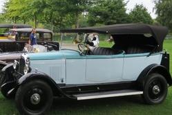 voitures anciennes le 13 septembre à Soues