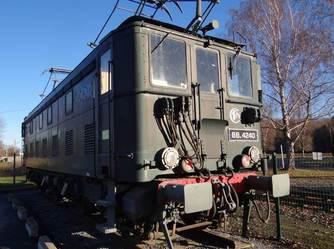 Locomotive réalisée sur le site de Soues