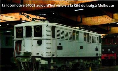 Locomotive réalisée sur le site