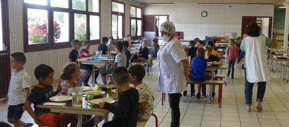 cantine école M.Barrouquère-theil